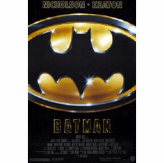 Batman Movie Poster 24inx36in