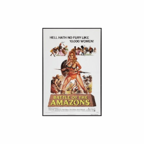 Battle Of The Amazons 8x10 photo Master Print