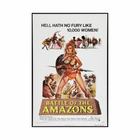 Battle Of The Amazons Mini Poster 11x17
