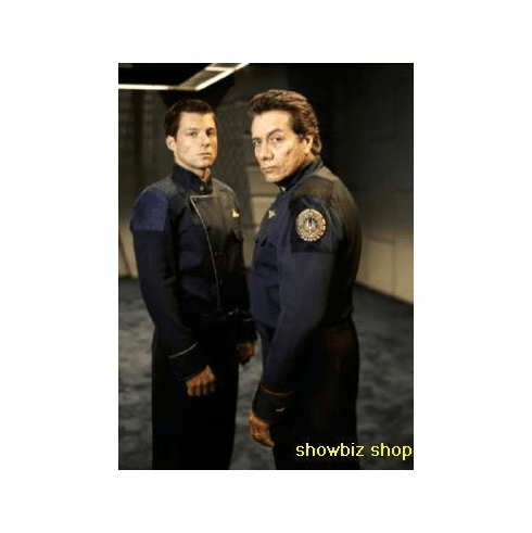 Battlestar Galactica Poster Adama Father And Son 24inx36in