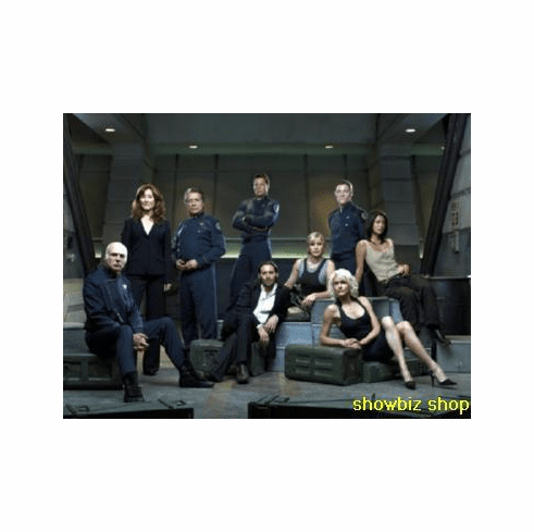 Battlestar Galactica Poster Group Portrait 24inx36in