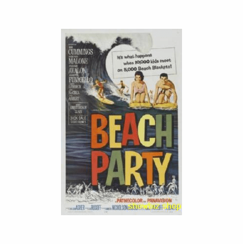 Beach Party Movie Poster 11x17 Mini Poster