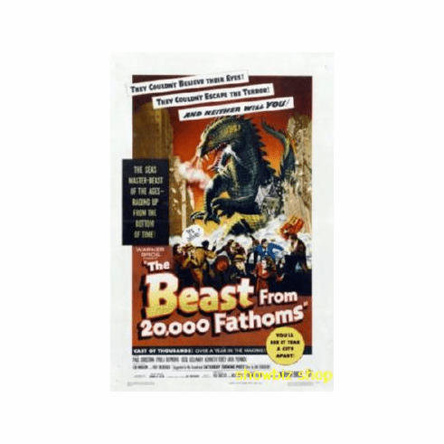 Beast From 20000 Fathoms Movie Poster 11x17 Mini Poster