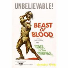 Beast Of Blood Movie Poster 11x17 Mini Poster