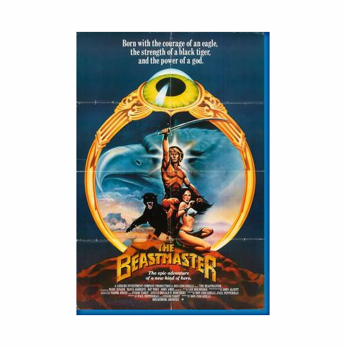 Beastmaster Movie Poster 24inx36in