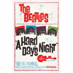 Beatles A Hard Days Night Movie Poster 11x17 Mini Poster