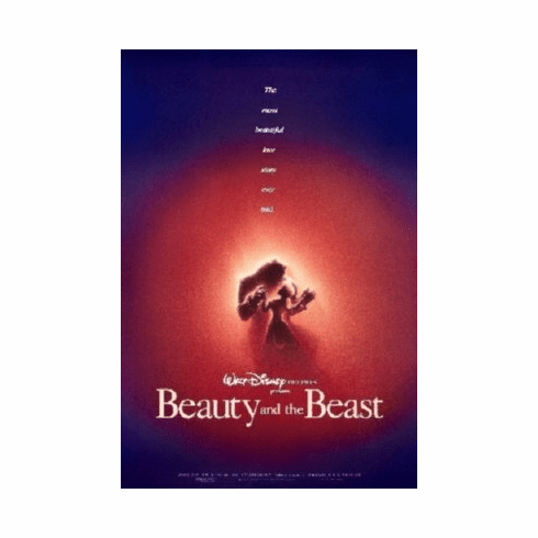 Beauty And The Beast Poster 24inx36in