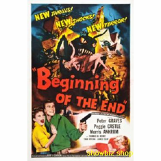 Beginning Of The End Movie Poster 11x17 Mini Poster
