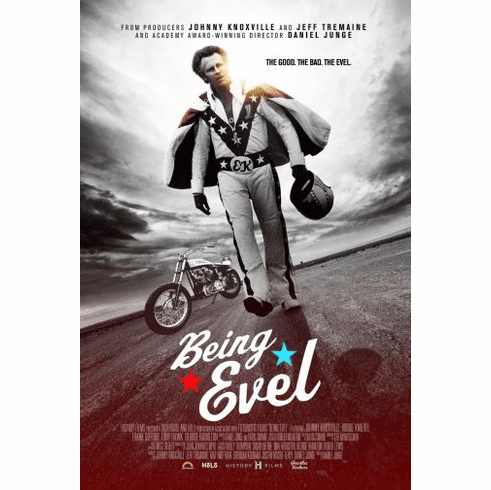 Being Evel Movie Poster 24in x36in