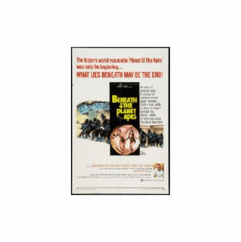 Beneath The Planet Of The Apes Movie Poster 11x17 Mini Poster