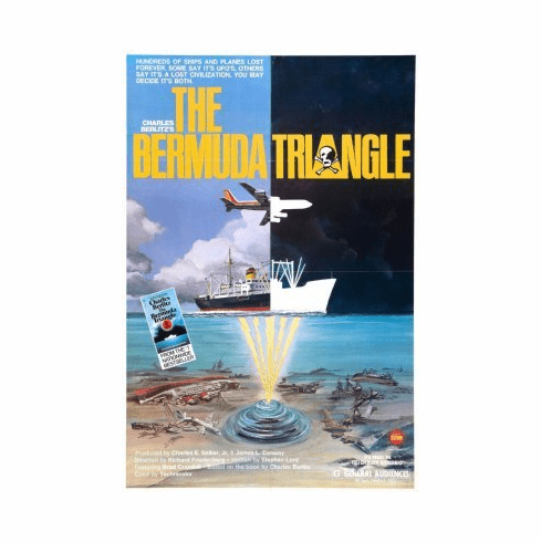 Bermuda Triangle Movie Poster 24x36 #01