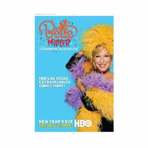Bette Midler Mini Poster #01 The Showgirl Must Go On 11inx17in Mini Poster