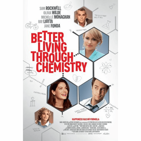 Better Living Through Chemistry Movie Poster 24Inx36In Poster