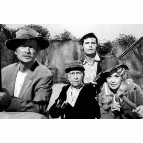 "Beverly Hillbillies Black and White Poster 24""x36"""