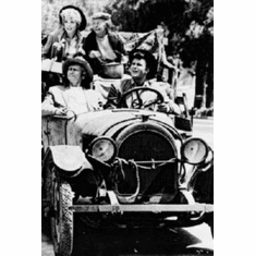 """Beverly Hillbillies Black and White Poster 24""""x36"""""""