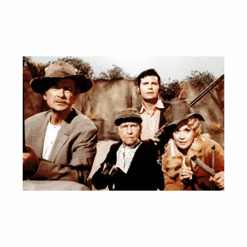 Beverly Hillbillies Poster 24x36 #02 Cast