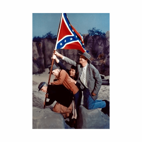 Beverly Hillbillies Poster 24x36 Confederate Flag