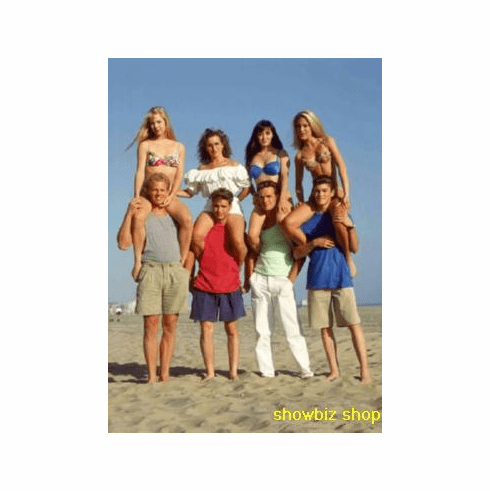 Beverly Hills 90210 Promo Poster Old Cast 24inx36in