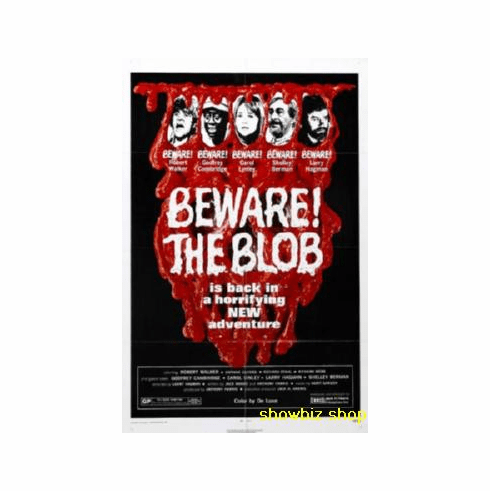 Beware Of The Blob Movie Poster 11x17 Mini Poster