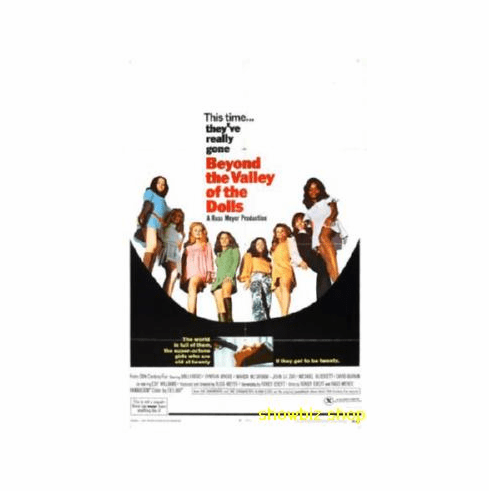 Beyond The Valley Of The Dolls Movie Poster 11x17 Mini Poster