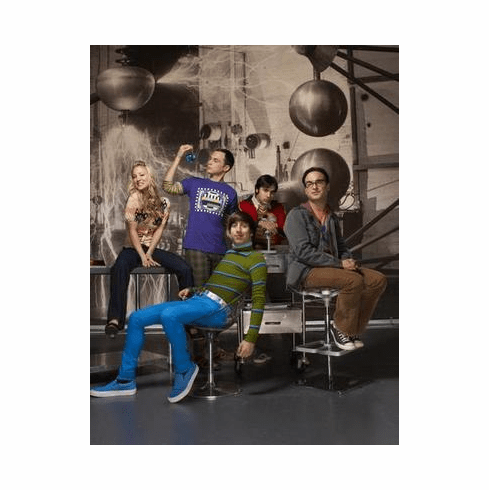 Big Bang Theory Poster Cast Lab 24in x36 in