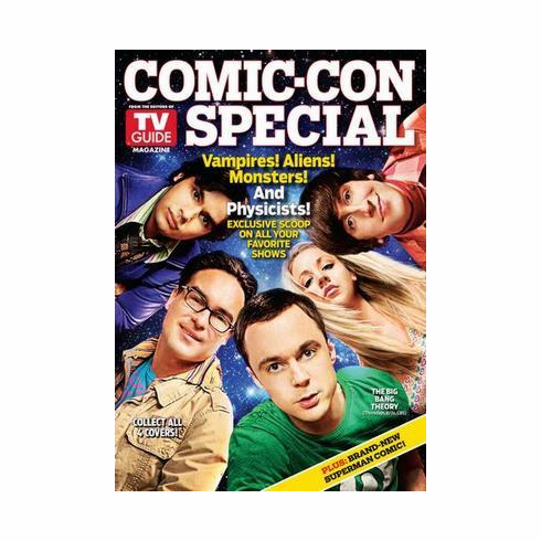 Big Bang Theory Poster Tv Guide Cover Comic Con 24in x36 in