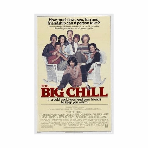 Big Chill, The Movie Poster 24in x36 in