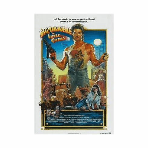 Big Trouble In Little China Movie Poster 24in x36 in