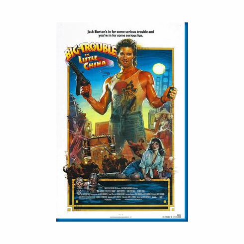 Big Trouble In Little China Movie Poster 24inx36in