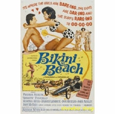 Bikini Beach Movie Poster 11x17 Mini Poster