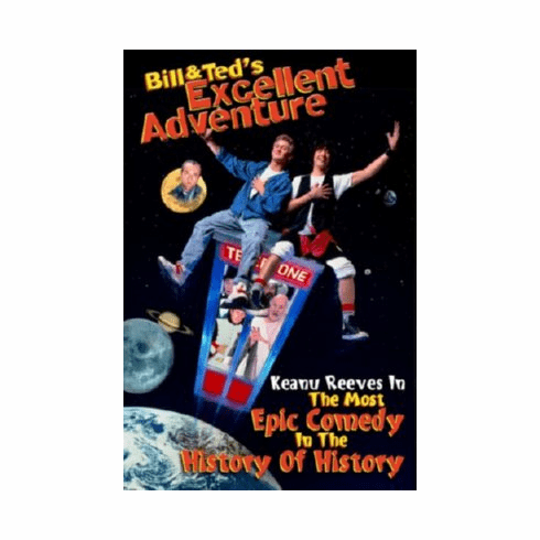 Bill And Teds Excellent Adventure Mini Movie 11x17