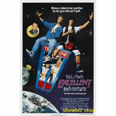 Bill And Teds Excellent Adventure Movie Poster 11x17 Mini Poster