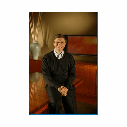Bill Gates Vt Poster 24inx36in