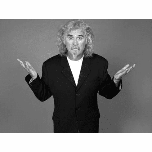 """Billy Connolly Black and White Poster 24""""x36"""""""
