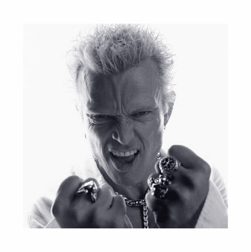 Billy Idol Poster Bw 24in x36 in