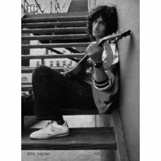 """Billy Squier Black and White Poster 24""""x36"""""""