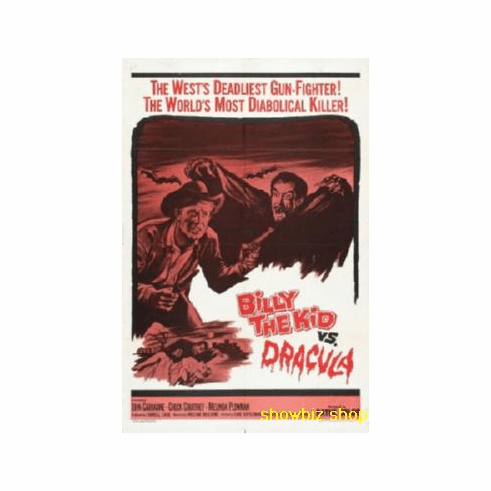 Billy The Kid Vs Dracula Movie Poster 11x17 Mini Poster