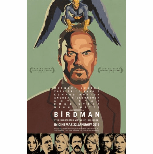 Birdman Movie Poster 24in x36in