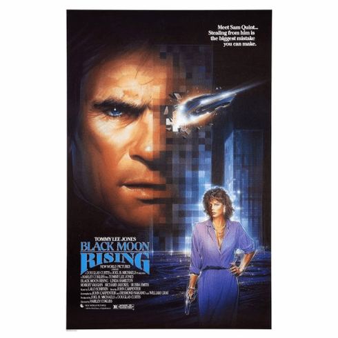Black Moon Rising Movie Poster 24inx36in Poster