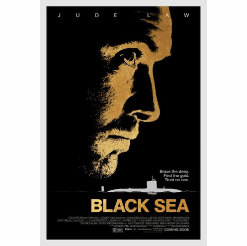 Black Sea Movie poster 24inx36in Poster