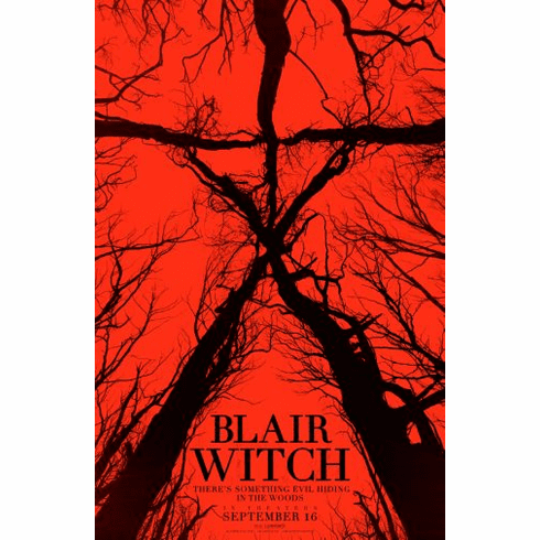 Blair Witch Movie Poster 24x36