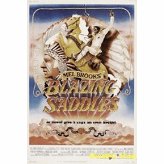 Blazing Saddles Movie 8x10 photo Master Print