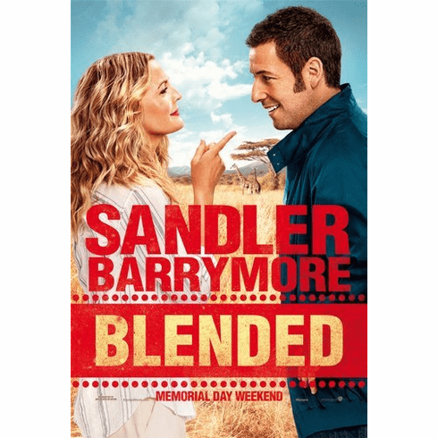 Blended Movie Poster 24Inx36In Poster