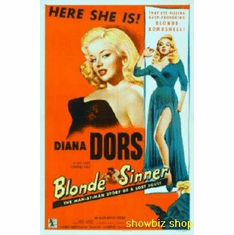 Blonde Sinner Movie 8x10 photo Master Print