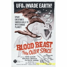 Blood Beast From Outer Space Movie 8x10 photo Master Print
