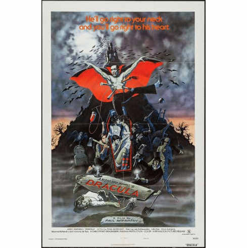 Blood For Dracula Movie poster 24inx36in Poster