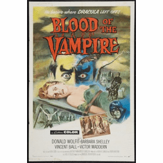 Blood Of The Vampire Movie Poster 24x36