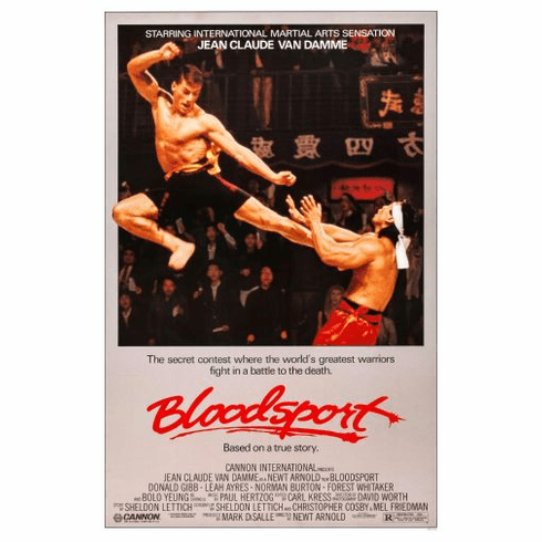 Bloodsport Movie Poster 24in x36in