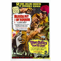 Bloody Pit Movie Poster 11x17 Mini Poster