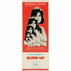 Blow Up 14x36 Insert Movie Poster